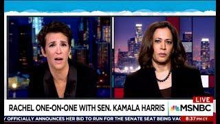 Sen Kamala Harris - Plan B To Keep Muller Investigating & Will She Run In 2020?