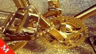 Lóa Mắt Với Chiếc Siêu Xe Đạp Bằng Vàng Và Kim Cương 21 Tỷ Chỉ Dành Cho Đại Gia