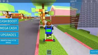 Máme sekačku Roblox Update! Lawn Mowing Simulator #1