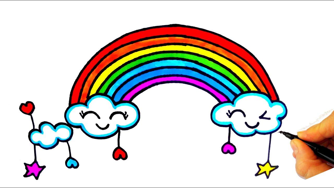 Gökkuşağı Nasıl Çizilir? - How To Draw a Rainbow
