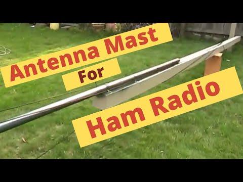 Antenna Mast / homemade / for Ham Radio