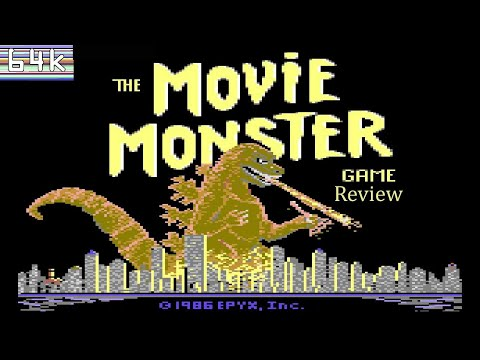 The Movie Monster Game (Commodore 64) Review