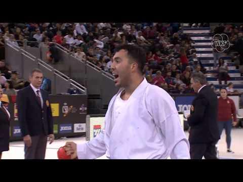 Sajad Ganzadeh (IRI) Vs Dnylson Jacquet (FRA) +84kg.Madrid K1 Premier League 2019 Gold Medals