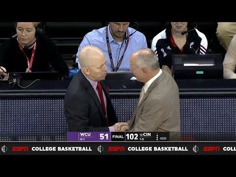 Men's Basketball Highlights: Cincinnati 102, Western Carolina 51 (Courtesy ESPN)