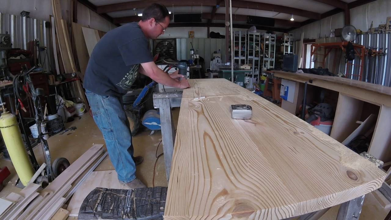 Pine Counter Top Youtube