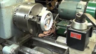 MACHINE SHOP TIPS #159 Making a Lathe Handwheel part 2 tubalcain