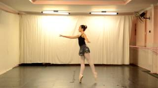 Studio de Dança Denise Fonseca - Dream - Bailarina Caroline Bárcia
