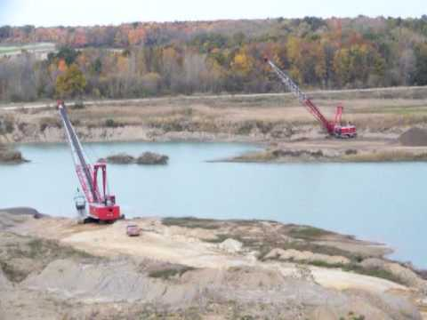 Lease a Manitowoc 4600 Dragline with operator