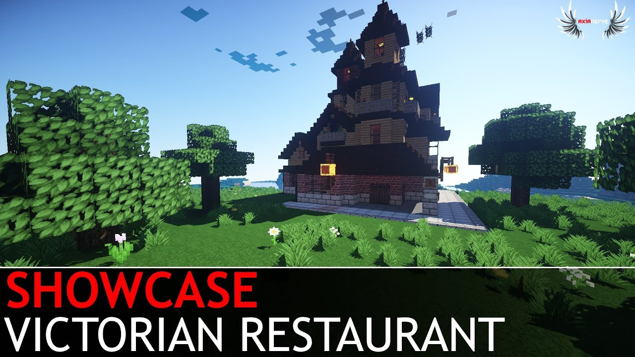 Minecraft Restaurant Schematic Skins Wiring Diagrams Showcase Victorian Youtube Blueprints 22