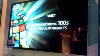 ISE 2015: HDBaseT Alliance Showcases 55″ PRV55OLED HDBaseT Industrial Display with 5.88mm Panel