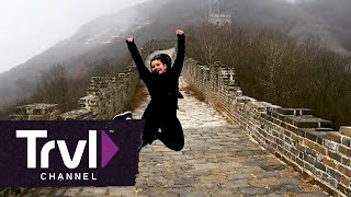 Slide Down the Great Wall of China - Travel Channel