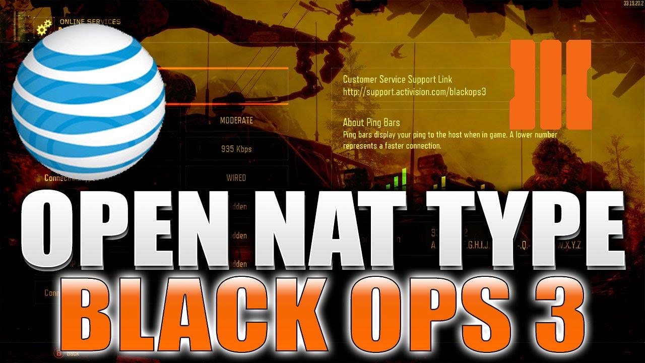 how to get nat type open netcomm