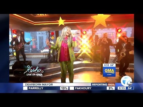 Kesha- Performs Woman - Live