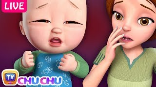 baby is sick song many more nursery rhymes kids songs by chuchu tv live stream