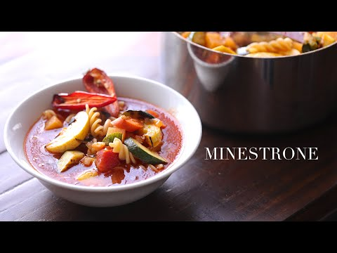 """Minestrone (using """"flawed"""" vegetables)"""