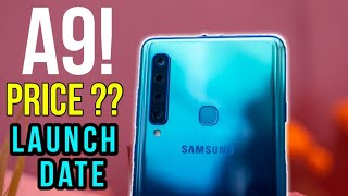 Samsung Galaxy A9 (2019) India Launch Date Confrimed, Specification & PRICE | Techno Rohit |