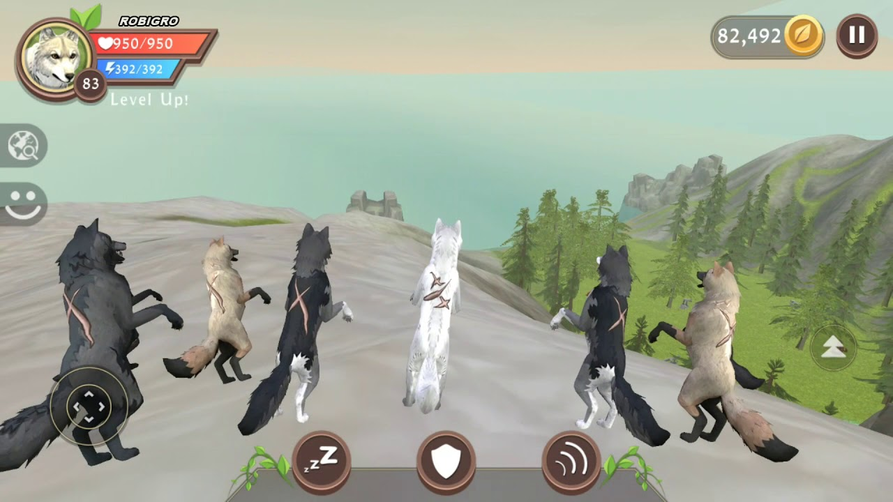 Android games intro wildcraft animal sim online 3d for Online 3d