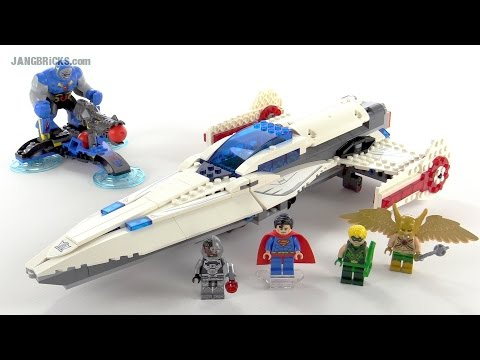 LEGO DC Super Heroes Darkseid Invasion review! set 76028