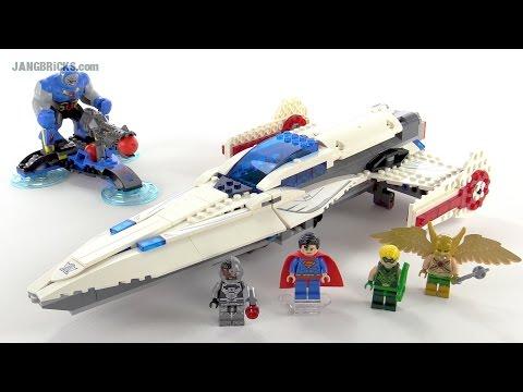 LEGO DC Super Heroes Darkseid Invasion review! set 76028 ...
