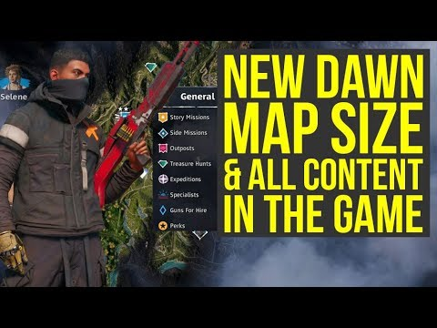 Far Cry New Dawn Map Size How It Has More Playtime Than Far Cry