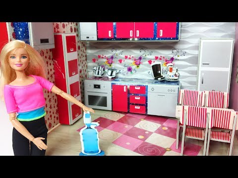 Barbie Mutfak | Kendin Yap | EvcilikTV