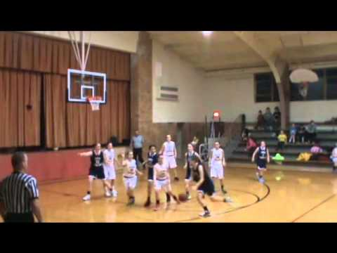 High School Lady Sabres vs Flint Hills Christian School Warriors 01/23/14