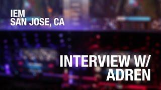 """It was a Snax-less Virtus.pro"" Interview w/ Adren of Liquid at IEM San Jose @EZSKINZ"