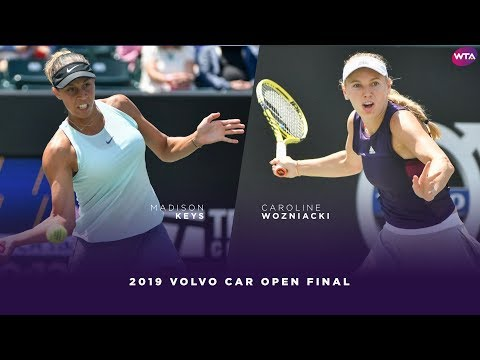 Madison Keys vs. Caroline Wozniacki | 2019 Charleston Open Final | WTA Highlights