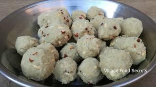 Chawal ki Pinni | Atta Ladoo Recipe | Pinni Recipe | Ladoo Recipe | Grandma's Style | Village Style