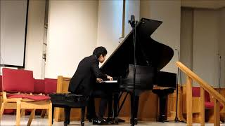 Steven Lin performs Beethoven