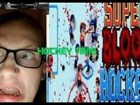 Super Blood Hockey Game-play: RAGE INDUCING |
