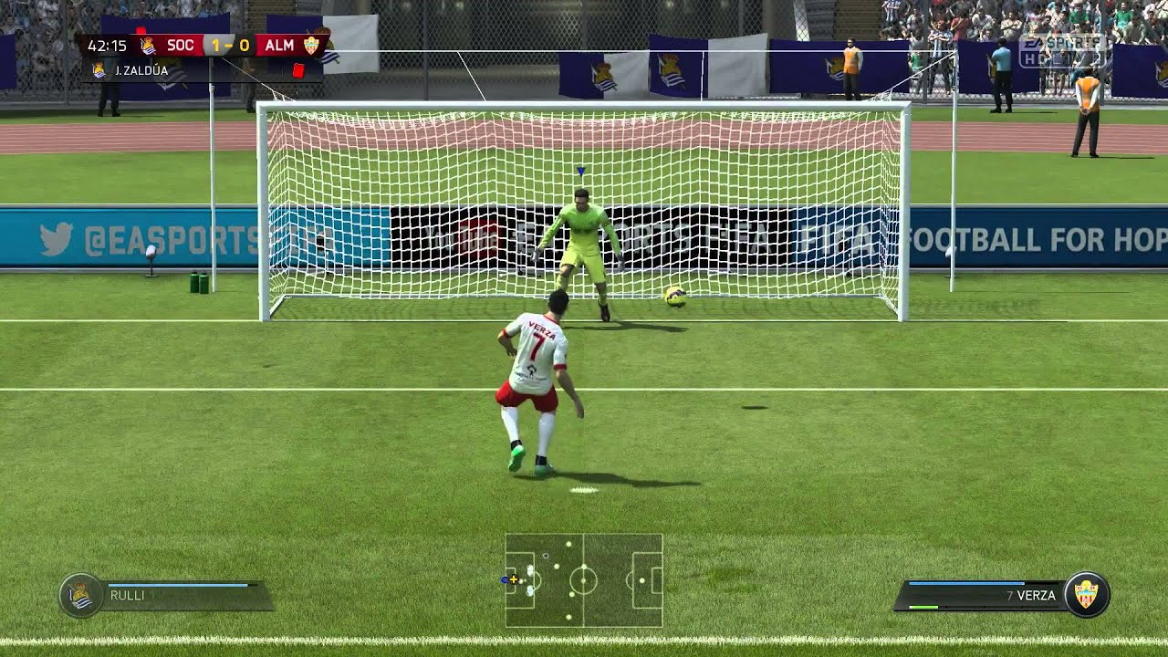 FIFA 15 Tutorial - How-To Score Penalties | Official (Xbox One/Xbox360) Game Tips (2015)