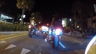 Myrtle Beach SC, Black Bike Week Ocean Blvd Strip Ride(RAW)2k13