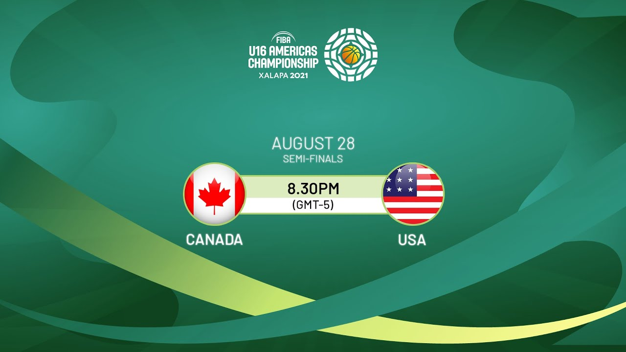 Download SEMI-FINALS: Canada v USA | Full Game - FIBA U16 Americas Championship 2021