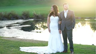 Beautiful Langdon Golf Course Teary and Joy-Filled Wedding.