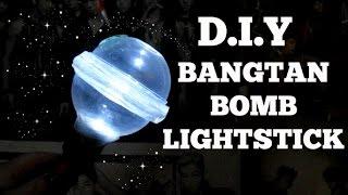 D.I.Y BTS BANGTAN BOMB LIGHTSTICK