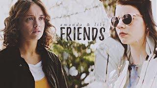 Amanda & Lily | Friends
