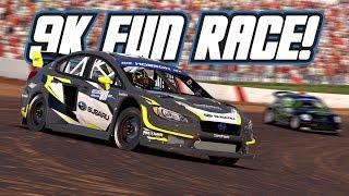 iRacing: 9K Fun Race! (Rallycross @ Lanier)