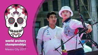 Korea v Germany – Recurve Mixed Team Gold final | Mexico City 2017