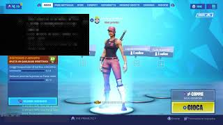 Live Fortnite game with subscribers 150 tournament members where gift a skin
