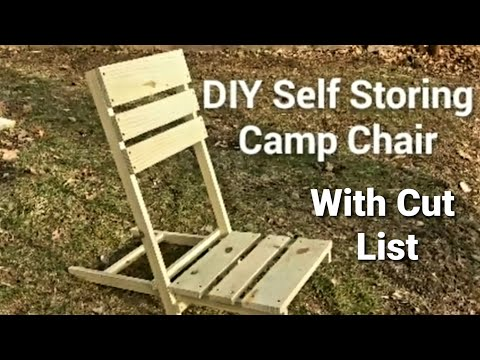 DIY Self Storing Camp Chair