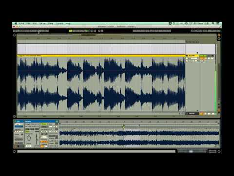 Stretch music to a tempo in Ableton Live 9