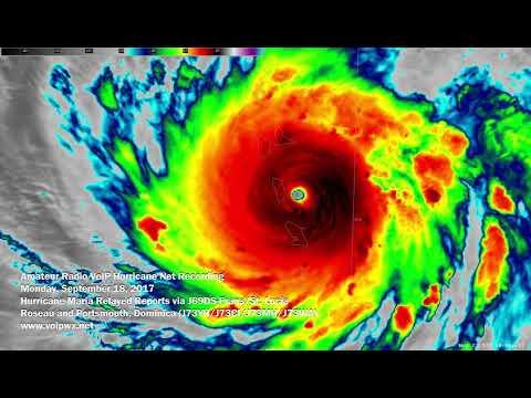 Hurricane Maria - VoIP Hurricane Net Report 9/18/2017