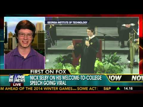 Georgia Tech Convocation Nick Selby Interview
