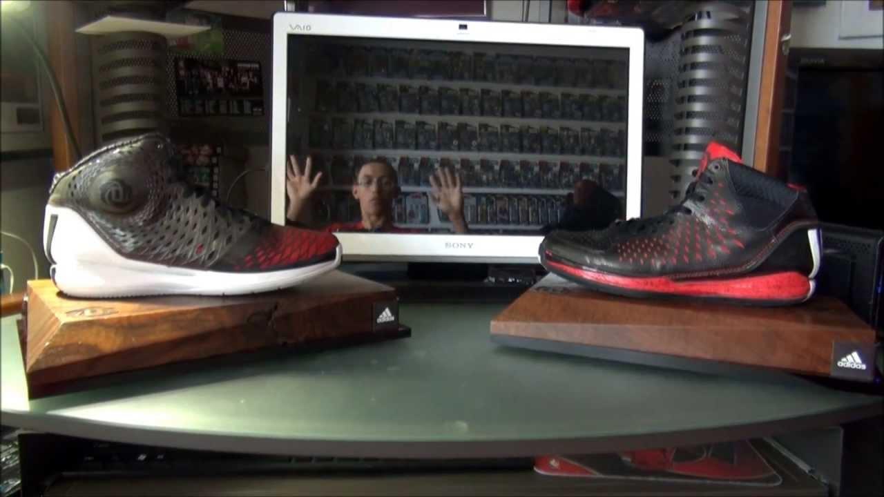 Adidas Rose 3   3.5 comparison Review - YouTube b00e8e62fc