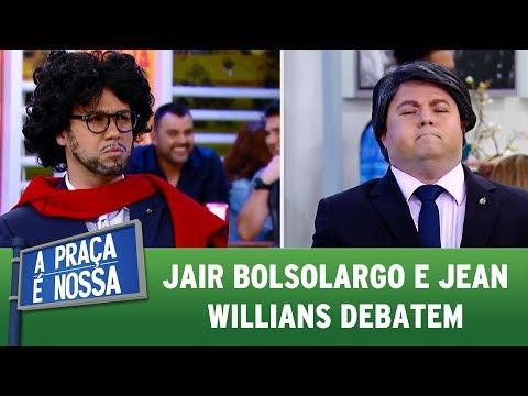 Jair Bolsolargo e Jean Willians debatem | A Praça É Nossa (20/07/17)