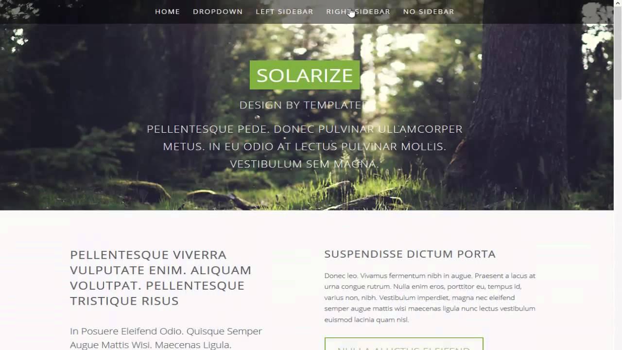 Excelente Plantilla Web Html5 Embellecimiento - Colección De ...