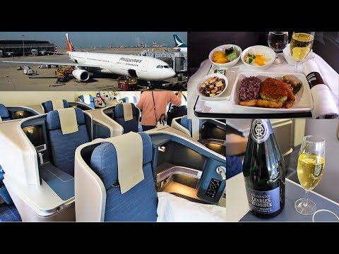 Philippine Airlines NEW A330 Business Class