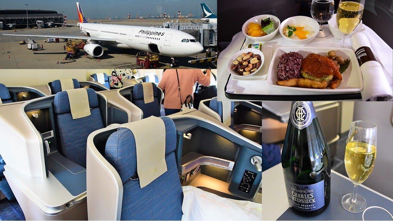 Philippine airlines 777 interior