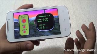 Lava 3G 402+ Plus Gaming Review and Benchmark Figures Tested